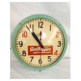 DR. PEPPER 10-2-4 ADV. CLOCK