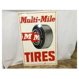 24X36 MULTI MILE MM TIRES SIGN
