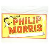 23X41 EMB. PHILLIPS MORRIS SIGN