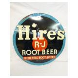 24IN EMB. HIRES ROOT BEER SIGN