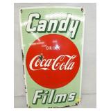 VIEW 2 CLOSEUP COKE CANDY FILMS PORC. SIGN