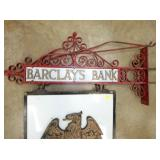 VIEW 2 CLOSEUP BARCLAYS BANK SIGN