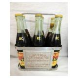 ROYAL CROWN CARRIER W/ BOTTLES