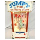 15X27 JUMPY THE DANCING CLOWN ANIMATED