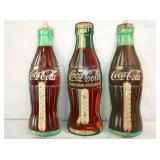 3 DIE CUT COKE BOTTLE THERMS.