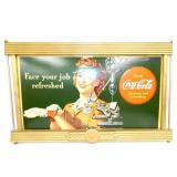 25X41 COKE CARDBOARD W/ DRILL
