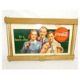 25X41 FAMILY TRAVEL COKE CARDBOARD