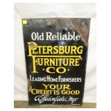 22X32 PORC. PETERSBURG FURNITURE SIGN