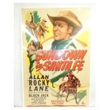 28X43 1948 SUNDOWN IN SANTA FE MOVIE POSTER