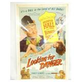 1957 LOOKING FOR DANGER POSTER
