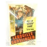 1952 LEADVILLE GUNSLINGER POSTER