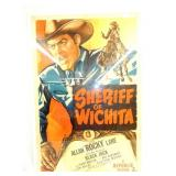 1949 SHERIFF OF WICHITA POSTER