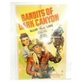 1947 BANDITS OF DARK CANYON