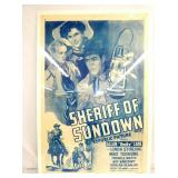 1944 SHERIFF OF SUNDOWN