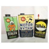 WHIZ,OILERS, OIL CANS