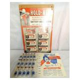 NOS HOLD RITE,DRY LUBE COUNTER DISPLAYS