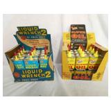 NOS LIQUID WRENCH COUNTER DISPLAYS W/ PRODUCT