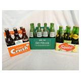 CRUSH,DIET RITE, SQUIRT BOTTLES/CARRIERS