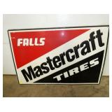 29X44 MASTERCRAFT EMB. SELF FRAMED SIGN