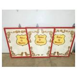 "42X42 ""PLACE OF WONDERS"" CIRCUS PANELS"