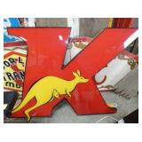 40X54 KANGAROO LIGHTED SIGN