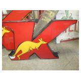 29X40 KANGAROO LIGHTED SIGN
