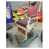 EARLY KOKEN BARBER CHAIR