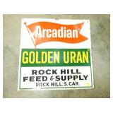 28X28 EMB. ARCADIAN SIGN