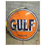 VIEW 2 OTHERSIDE PORC. GULF SIGN