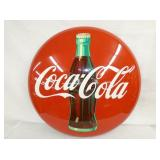 36IN COCA COLA BUTTON W/ BOTTLE