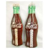 COKE DIE CUT BOTTLE THERMOMETERS