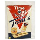 20X28 EMB. TOMS TIME OUT SIGN
