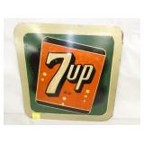 14X14 EMB. 7UP SIGN