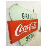 VIEW 2 GRILL SODA & COKE SIGN