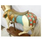 VIEW 4 BACKSIDE CAROUSEL HORSE