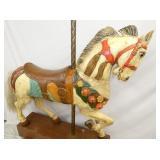 VIEW 6 STIEN & GOLDSTIEN CAROUSEL HORSE