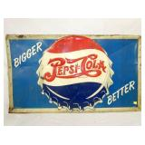 33X57 EMB. PEPSI DOUBLE DOT SIGN
