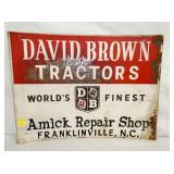 18X24 DAVID BROWN TRACTORS FRANKLINVILLE NC