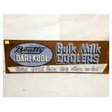 12X38 MASOINTE BULK MILK COOLERS SIGN