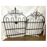 6X47 MATCHING IRON GATES