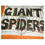 VIEW 4 94X115 GIANT SPIDERS BANNER