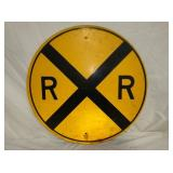 30IN RR CROSSING SIGN