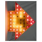 32X44 LIGHTED ARROW SIGN