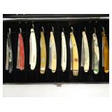 COLLECTION EARLY STRAIGHT RAZORS
