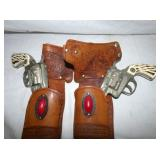 MARSHALL CAP PISTOLS/HOLSTERS