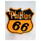 28X30 PORC. PHILLIPS 66 SHIELD SIGN