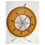 20IN WOODEN ROULETTE GAME WHEEL