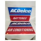 NOS EMB. ACDELCO SIGNS