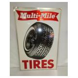 24X36 1982 MULTI MILE TIRES SIGN