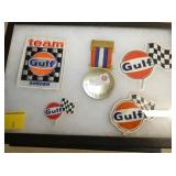 EARLY GULF PROMOTIONAL ITEMS